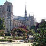 Vue de Notre-Dame depuis le Viviani park