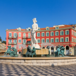 Fontaine à Nice
