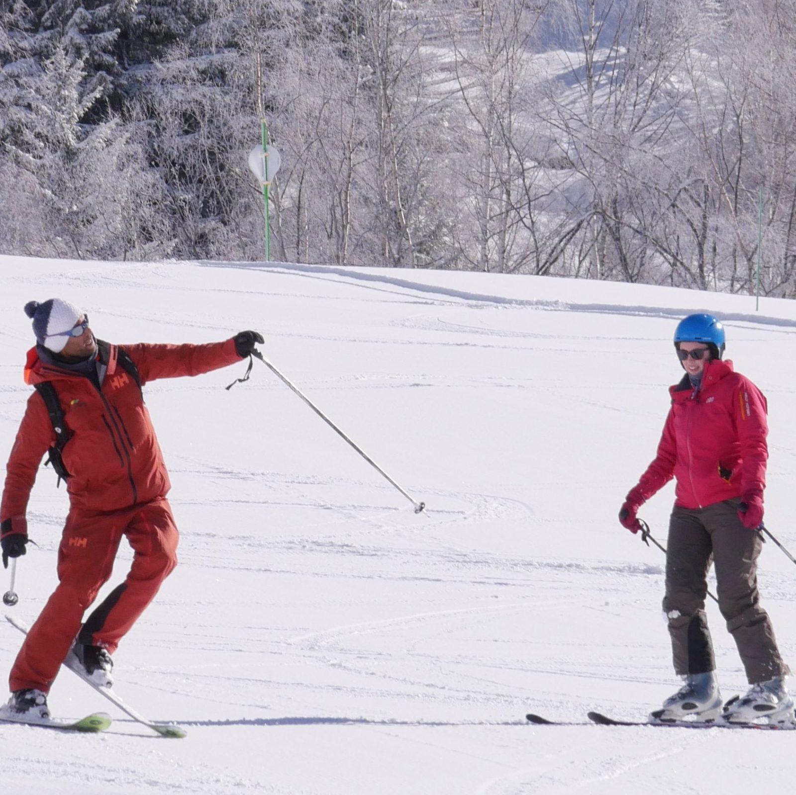 Français & Ski ou Snowboard