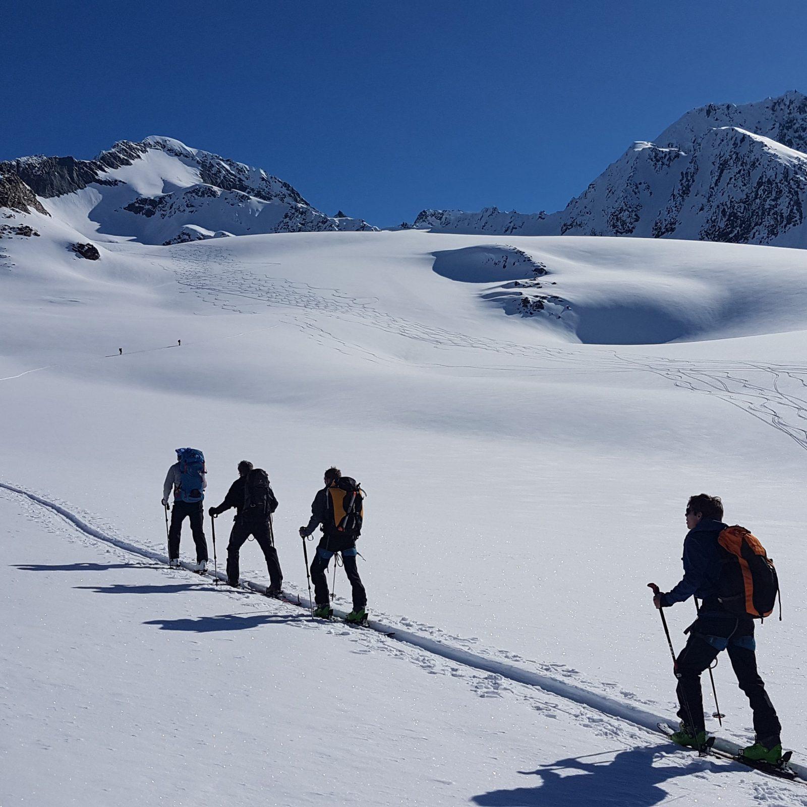 Français & Ski de randonnée