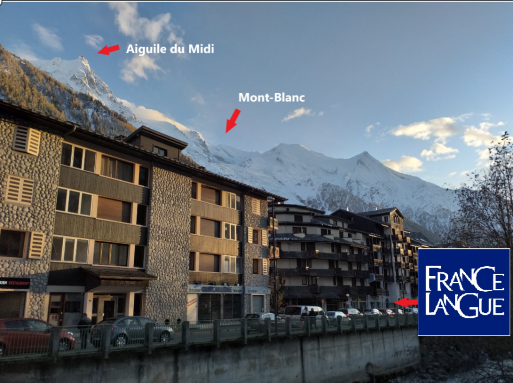 Local de france langue chamonix