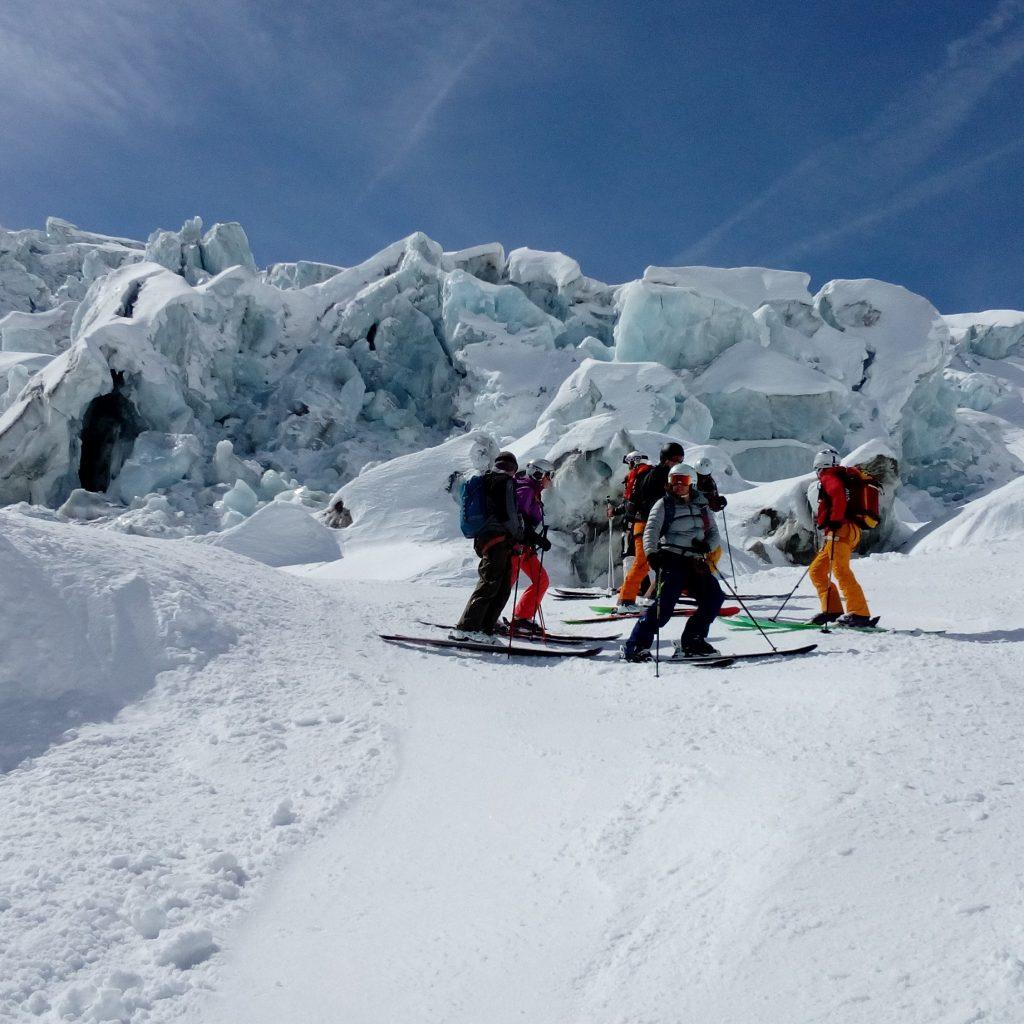 glacier vallée blanche