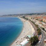 Vue aérienne de Nice