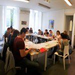 France langue Bordeaux salle de classe