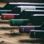 Bouteilles de vin de Bordeaux