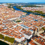 Lyon vue du ciel