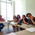 Etudiants de France Langue en classe