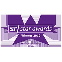 Vainqueur du Star Awards 2019
