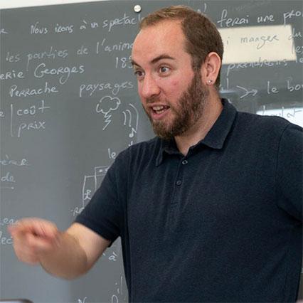 Stage pour professeur de français