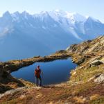 randonnée lac et montagne